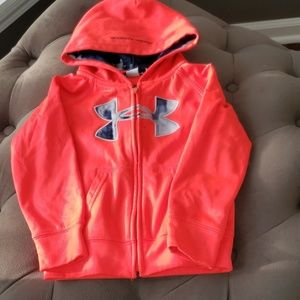 Under Armour zip up hoodie for little boy